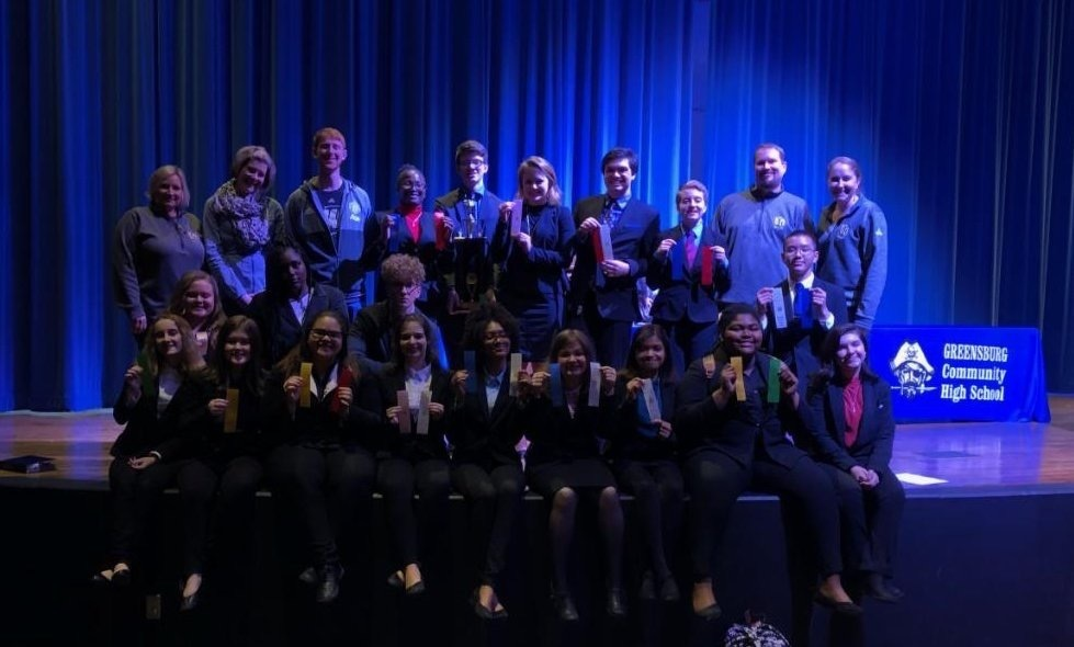 WCHS Speech Team Wins Sectional
