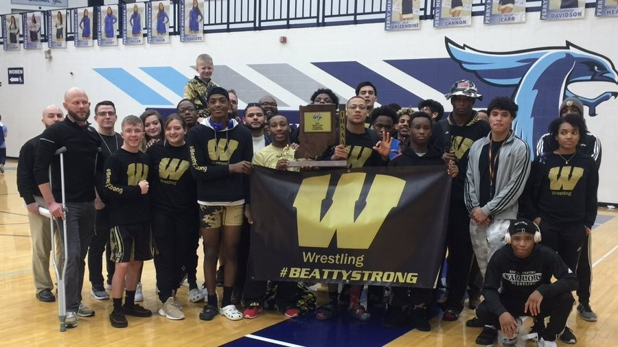 WCHS Wrestling Team Takes the 2020 IHSAA Regional Champions