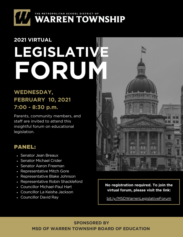 2021 Virtual Legislative Forum