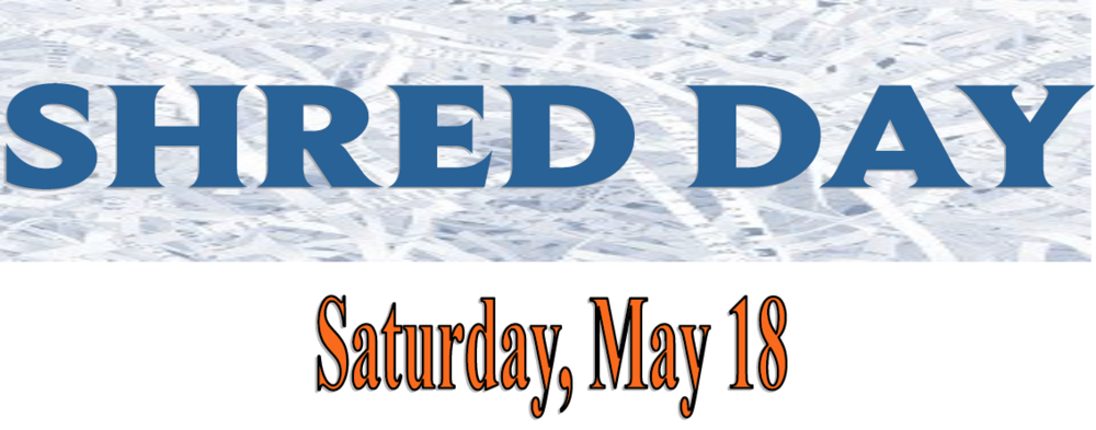 Shred Day, May 18, 2019