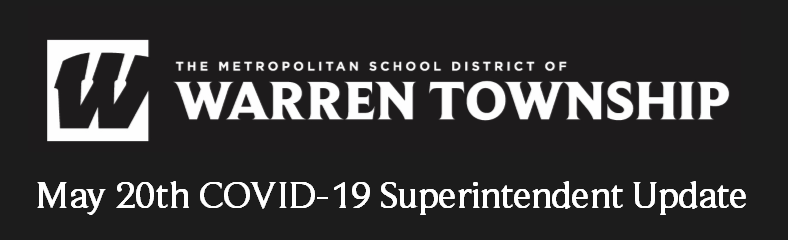 May 20th COVID-19 Superintendent Update