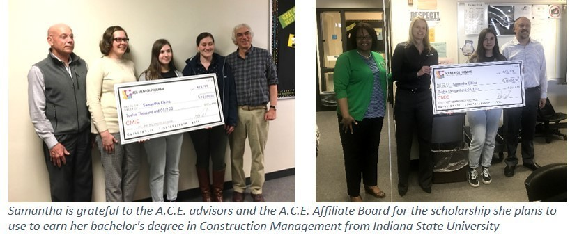 SAMANTHA ELKINS WINS NATIONAL ARCHITECTURE, CONSTRUCTION AND ENGINEERING SCHOLARSHIP