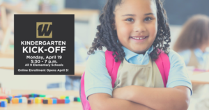 Kindergarten Kick-Off  on April 19