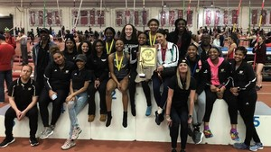 Congratulations to the 2019 Girls Track & Field Indoor State HSR Champions!!