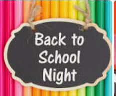 Back to School Night Links