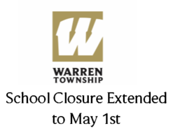 School Closure Extended to May 1st