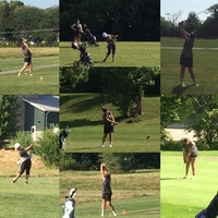 Girls Golf Competes in County Tourney at Coffin Golf Course