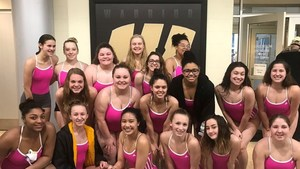 The Girls Swim Team Set 5 School Records Tonight in Sectional Preliminaries!