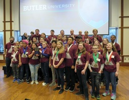 Raymond Park Middle School Science Olympiad Wins Regional at Butler University