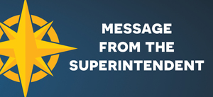 November / December Message from Dr. Hanson, Superintendent: Thank You!