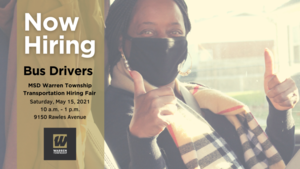 Now Hiring Bus Drivers and Custodians!