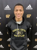 2020 IHSAA New Castle Semi-State Wrestling Champion at 152lbs, Brice Coleman!!