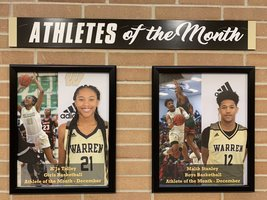 Warren Central Athletes of the Month Announced!!