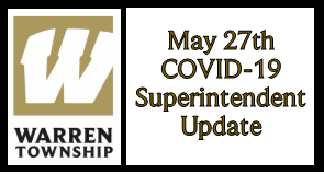 May 27th COVID-19 Superintendent Update