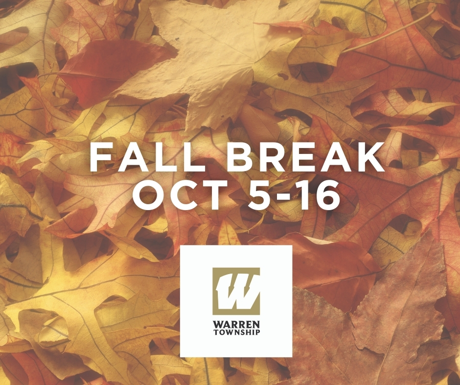 Fall Break Oct 5-16, 2020