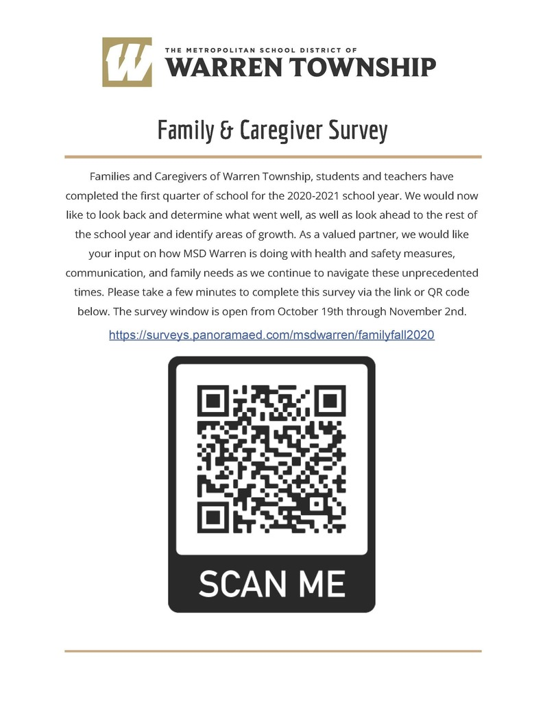 Family & Caregiver Survey