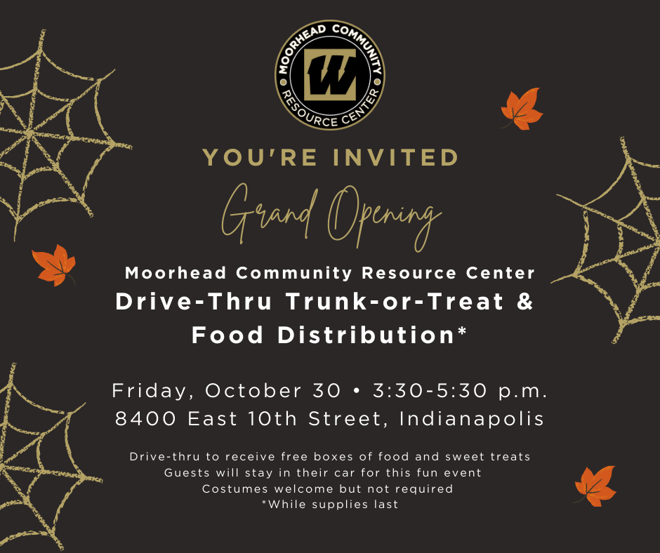Drive-Thru Trunk-or-Treat and Food Distribution Event