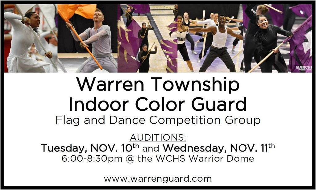 Color Guard 5-8 Info
