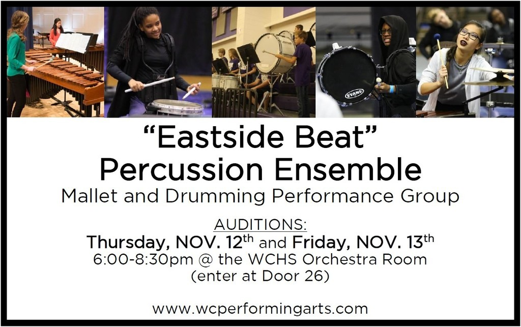 Percussion Ensemble Info 5-8