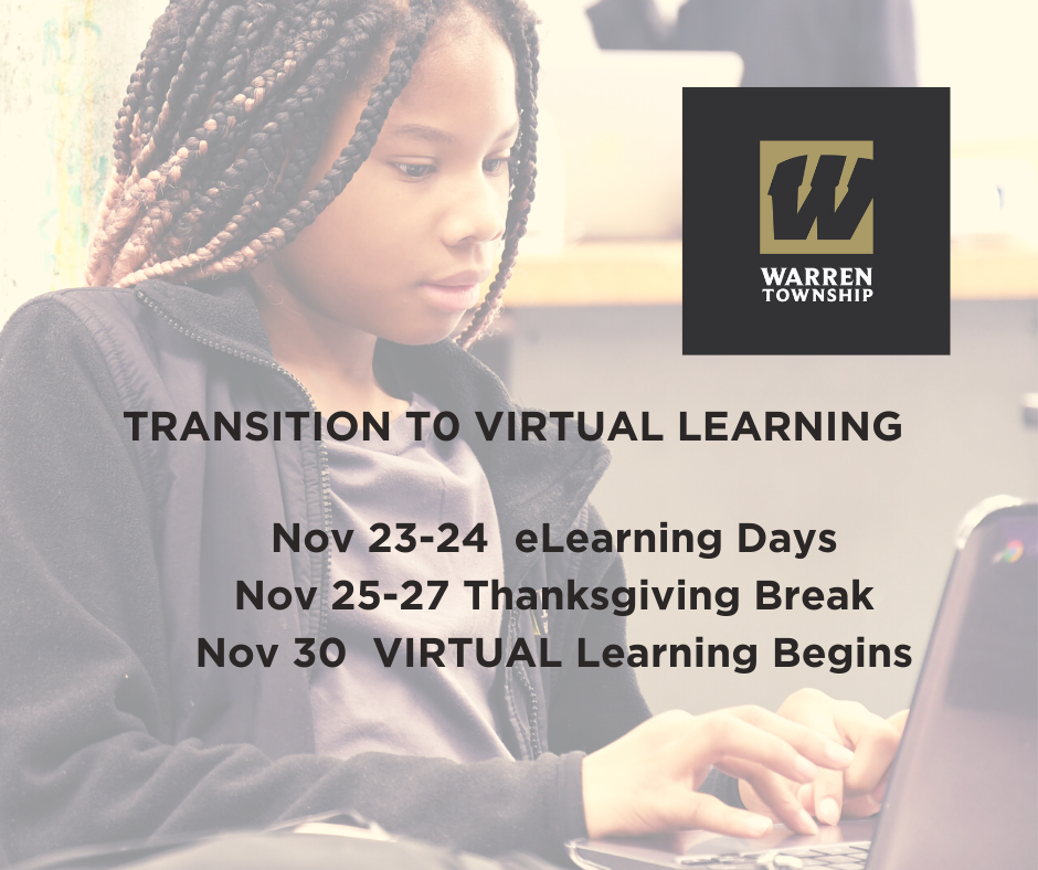 Transition to Virtual Learning Dates