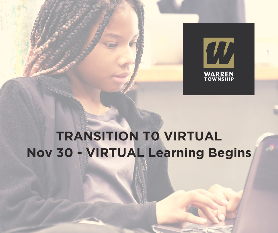 Transition to VIRTUAL Nov 30, 2020