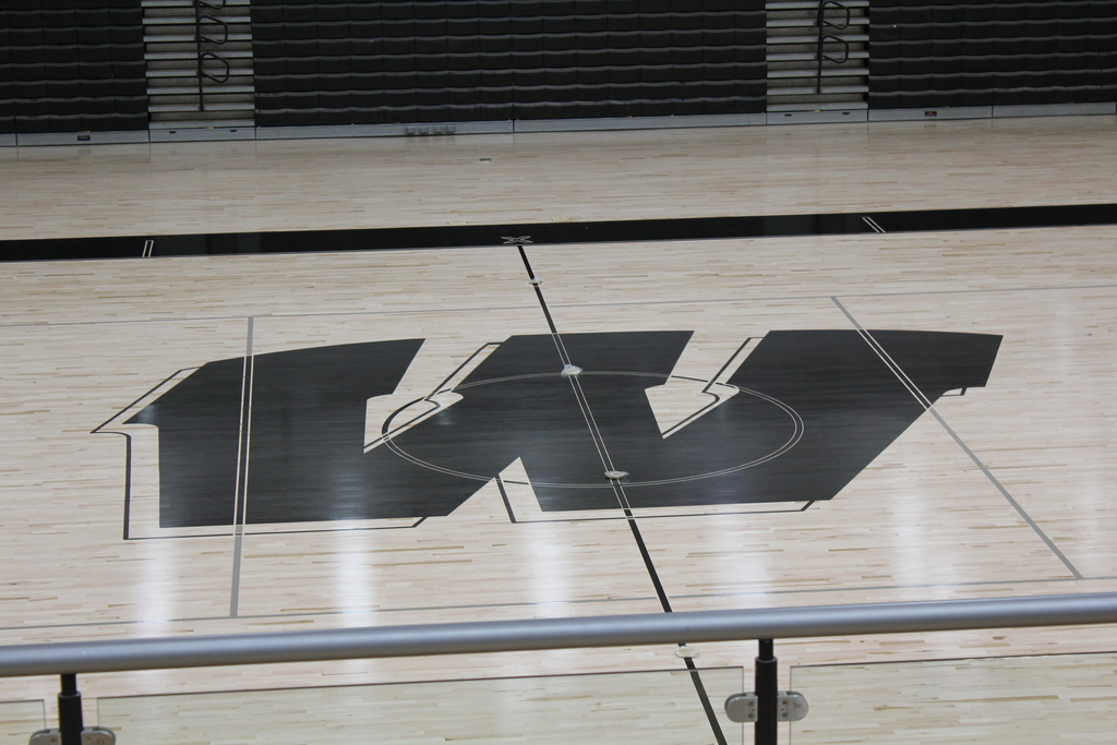 New gym floor at Warren Central High School
