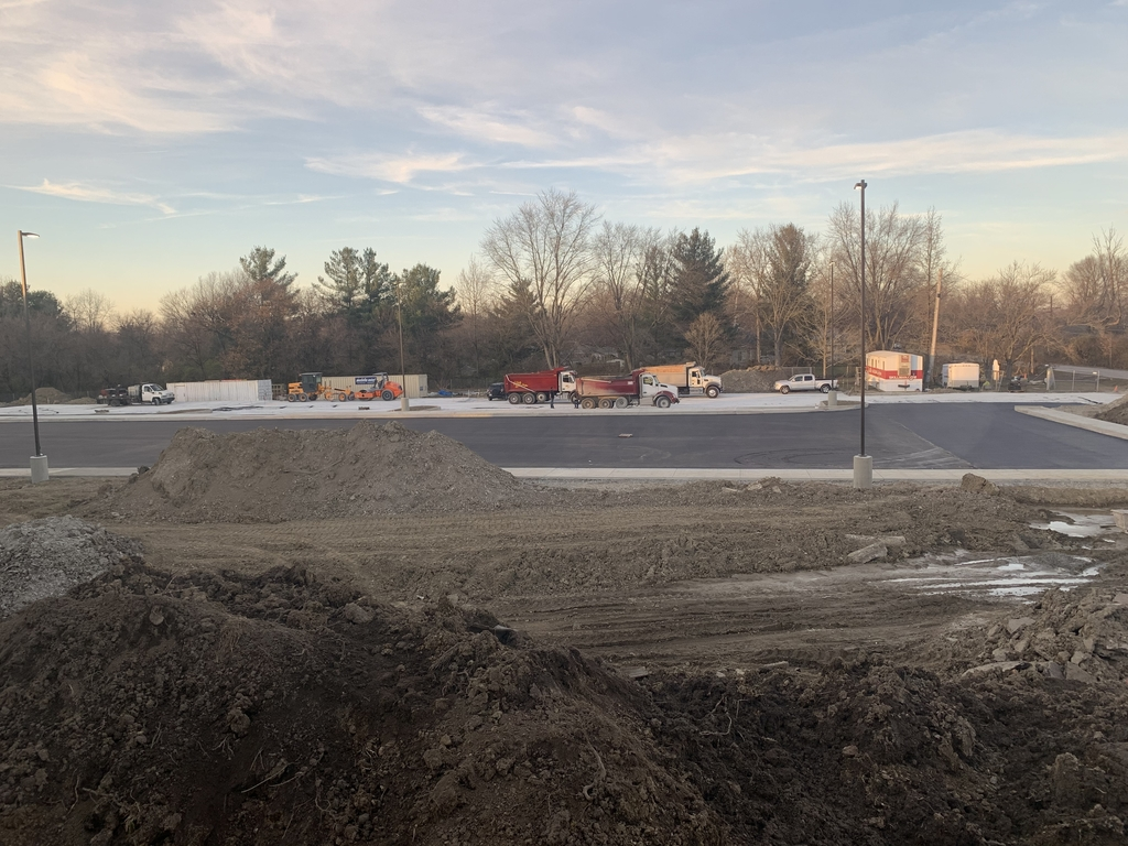 New Bus Parking Lot