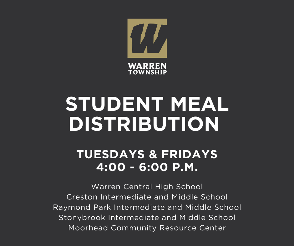 Student Meal Distribution Jan 8 2021