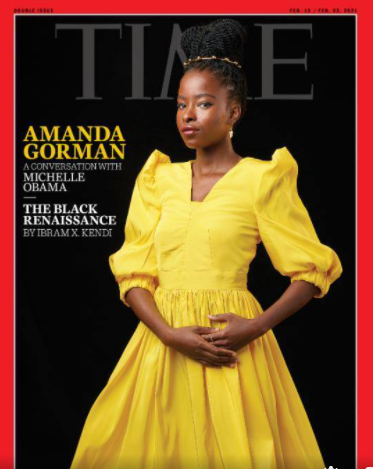 Time Magazine Cover: Amanda Gorman