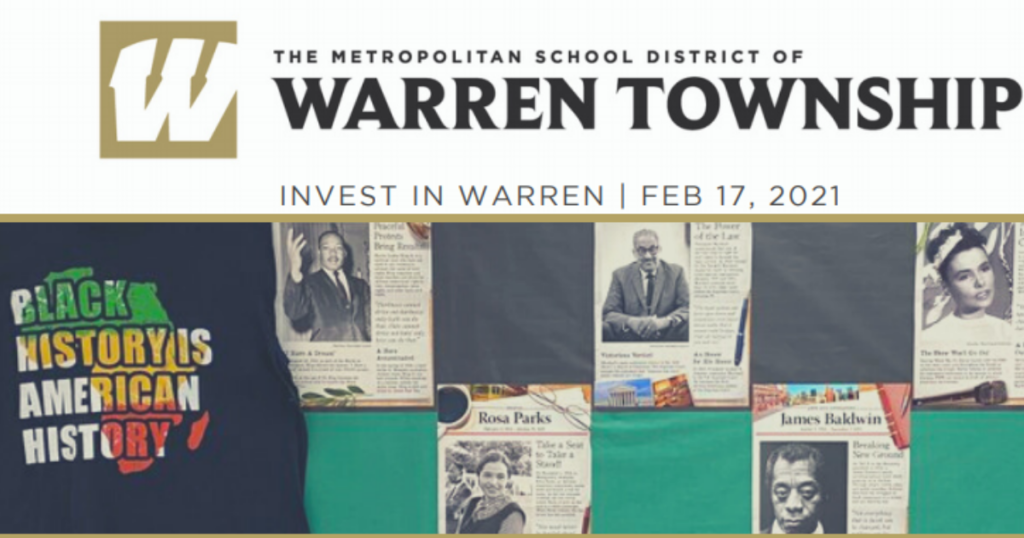 Invest In Warren Febryary 17 2021 Newsletter photo