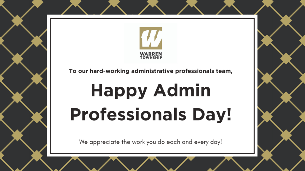 Happy Admin Professionals Day!