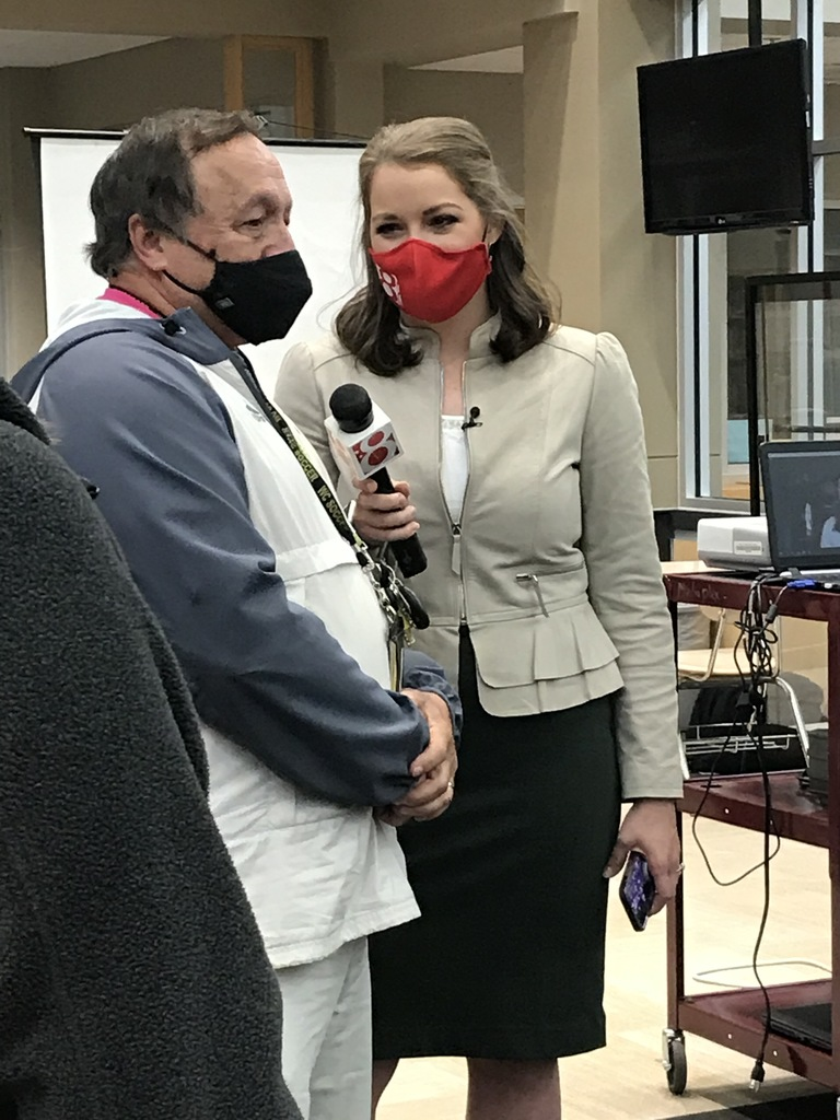 Mr. Gary Roberts interviewed by WISH-TV Brenna Donnelly