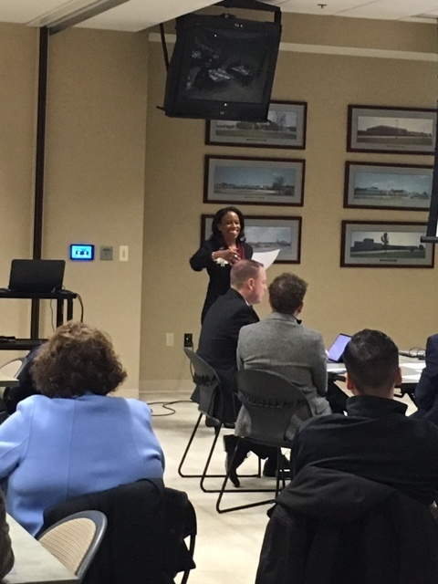 Indianapolis East Redevelopment Meeting - Karen Lightbourne