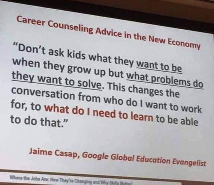 Career Counseling quote
