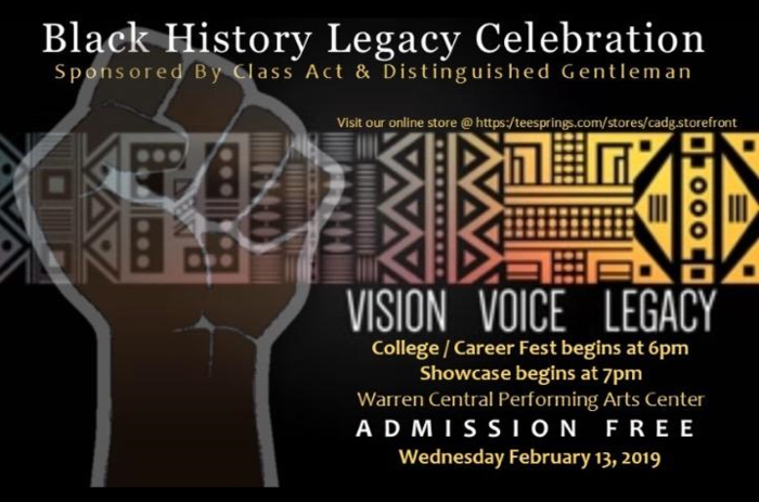 Black History Legacy Event Information Picture
