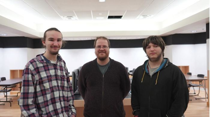 Programming Students (Garat Phelps, Christian Holtsclaw) Teacher (Josh Law)