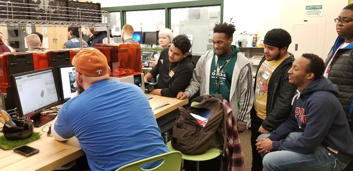 ETE students explore Ivy Tech