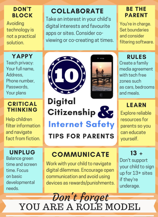 Online safety tips for parents