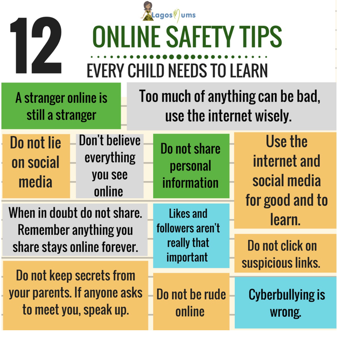 Online safety tips for students