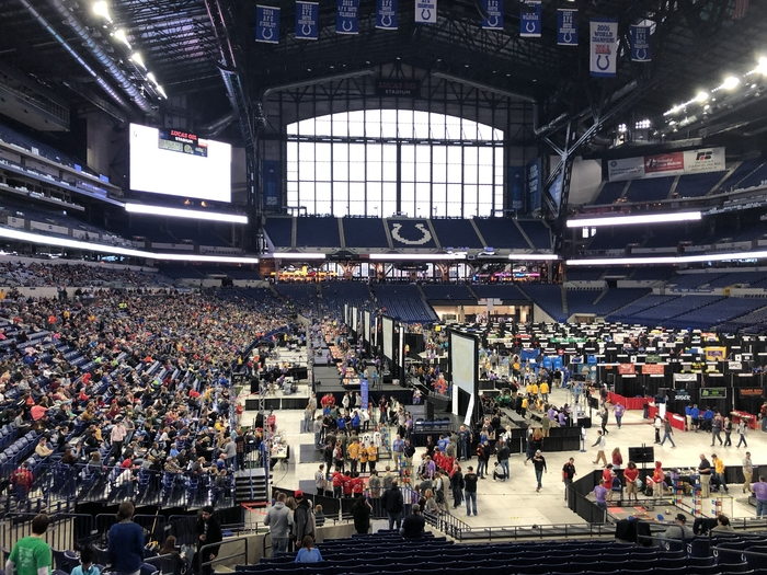 Robotics at Lucas Oil Stadium