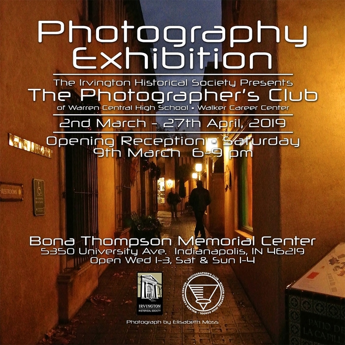 photography exhibit poster