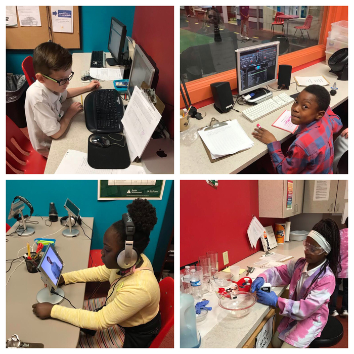 4th Grade fun at Biz Town!