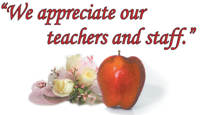 Teacher-Staff Appreciation Picture
