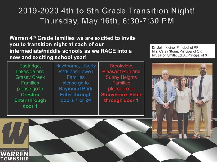 Transition Night 2019