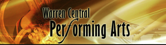 Warren Central Performing Arts Graphic