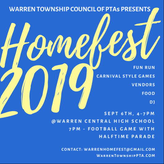 Homefest Flyer