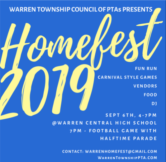 Homefest Flyer Graphic