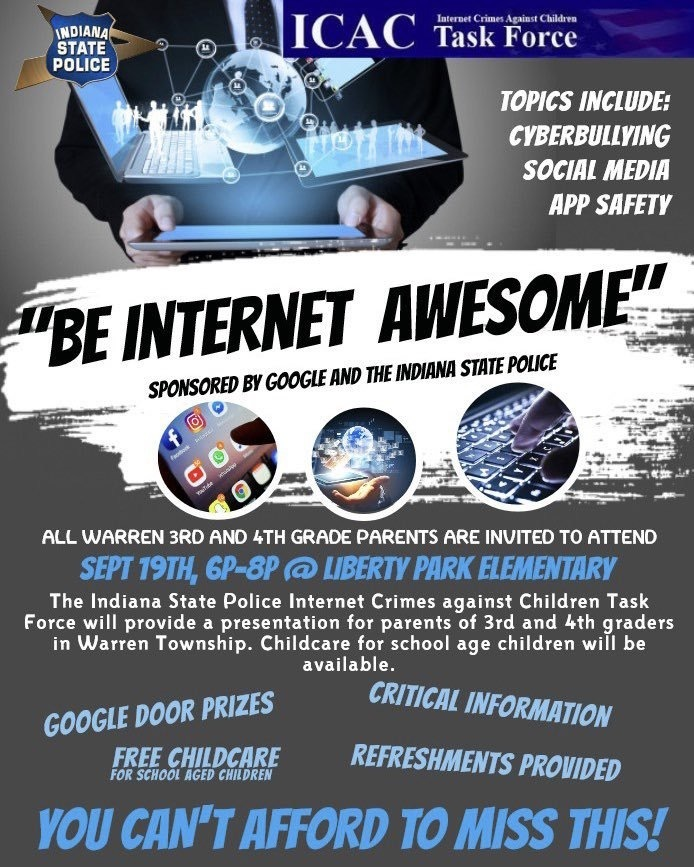 Internet Presentation Flyer
