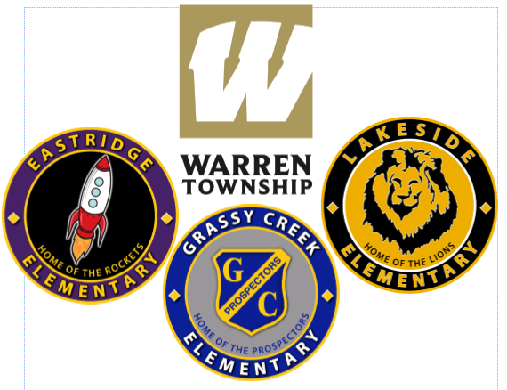 Eastridge, Grassy Creek, Lakeside, Warren Logos
