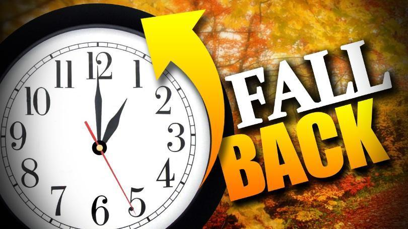 Fall Back DST Ends